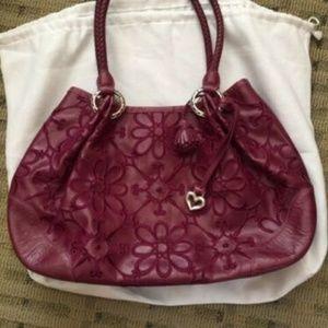 Brighton saddle bag purse, NWOT, burgundy